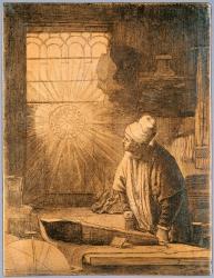 Etsplaat Rembrandt